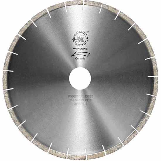 (RF)扇形石材边切割锯片,石材切边锯片,金刚石切边锯片