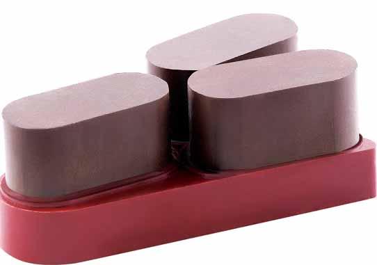 树脂磨盘和三角形树脂磨料