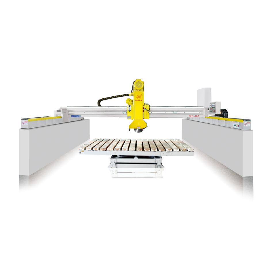 红外线自动桥切机,PLC-600自动石材桥切机,红外线自动石材切石机