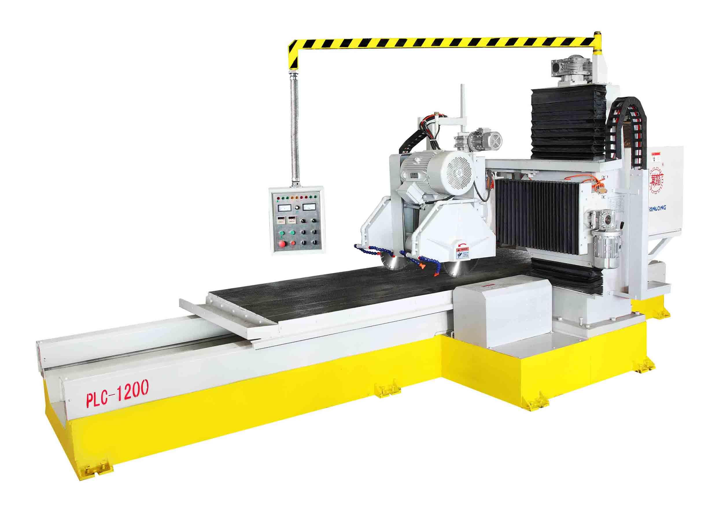 PLC-1200电脑控制异形条切割机